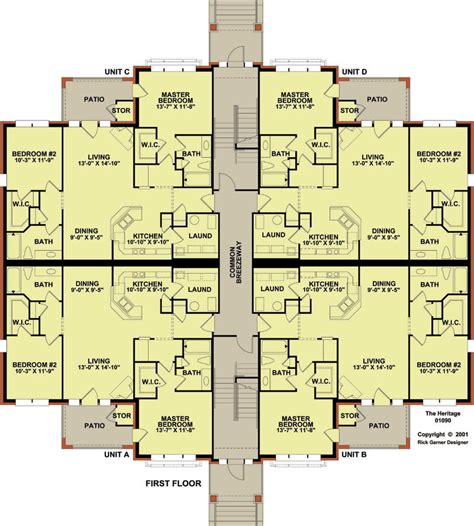 three plex floor plans 12 plex 1 floor plan apartment house plan ideas
