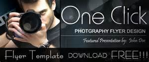 free photography advertising templates free photography flyer poster template dezineguide
