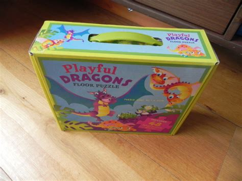 playful dragons large floor puzzle for sale in donaghmede