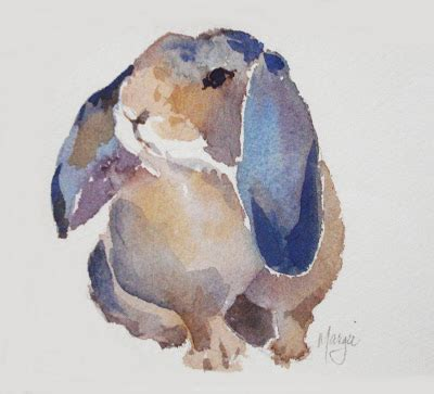watercolor rabbit tutorial artists of texas contemporary paintings and art 3 1 10