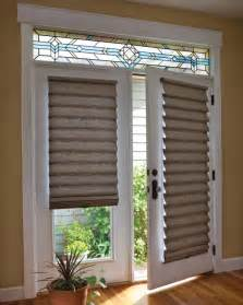 Patio Door Venetian Blinds Shade On Door With Stained Glass Doors Pinterest Doors And Glass