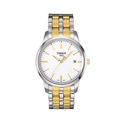 Tissot T Wave Of Pearl Two Tone Stainless Steel T02 2 285 keanes jewellers tissot
