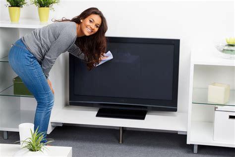 how to clean a flat screen tv ebay