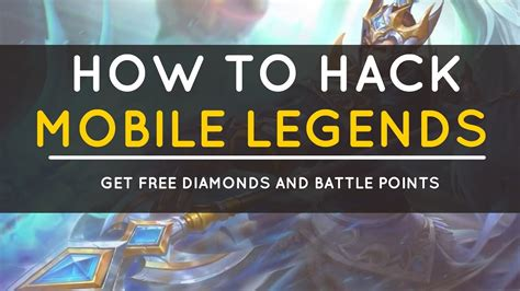 tutorial hack diamond mobile legends mobile legends hack how to hack mobile legends get