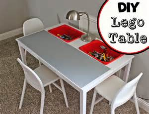 Little of this a little of that diy lego table