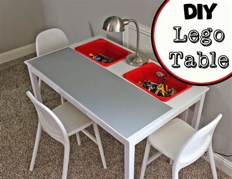 lego table diy ikea a of this a of that diy lego table