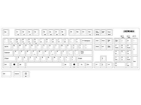 us ascii keyboard layout filco convertible 2 tactile action usa ascii keyboard
