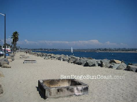 san diego beaches with pits mission pits along boat canal flickr photo