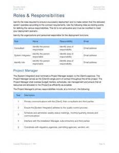 Software Deployment Document Template by Deployment Plan Template Apple Iwork Pages And Numbers