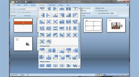 themes powerpoint 2007 microsoft microsoft powerpoint 2007 pt 1 add slide pictures sound