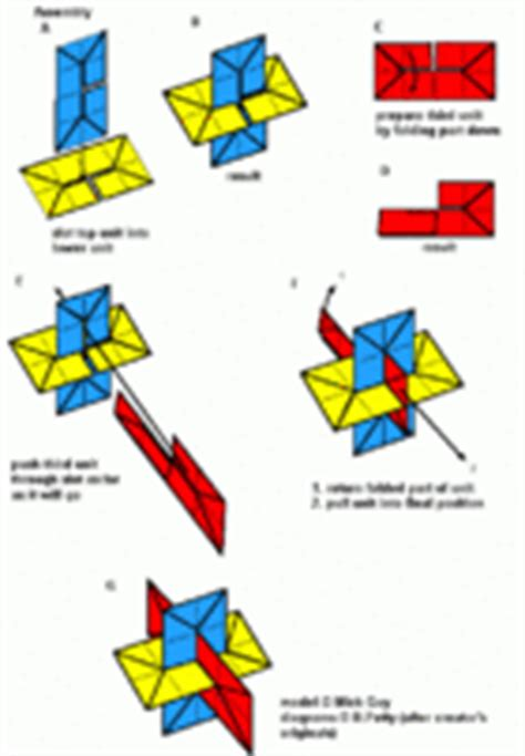 Xyz Origami - how to make intersecting planes models
