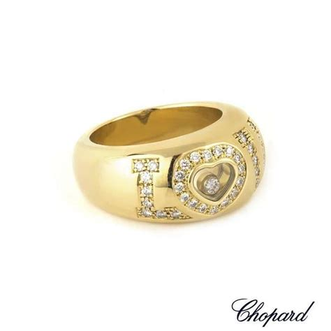 chopard happy diamonds ring for sale at 1stdibs
