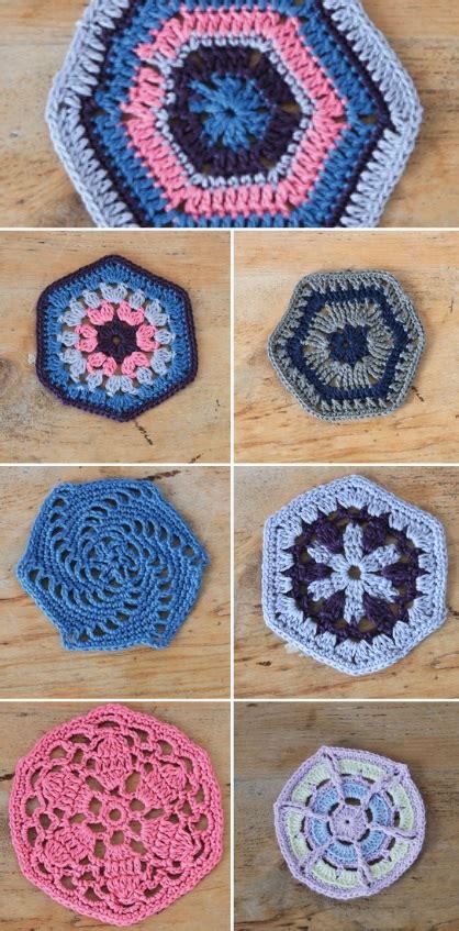 Crochet Hexagon Motif Free Patterns crochet hexagons crochet kingdom 33 free crochet patterns