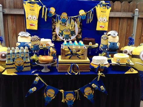 Minion Baby Shower Decorations by Minions Baby Shower Ideas Photo 10 Of 12 Catch