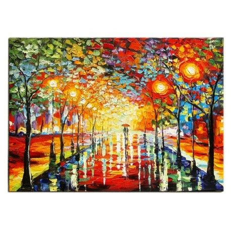Handmade In New York - alley park central park new york painting canvas handmade