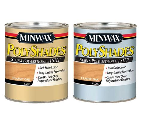 polyshades colors minwax 174 polyshades 174 stain color and poly finish in one
