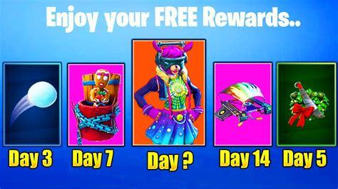 days  fortnite  rewards season