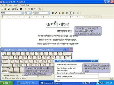 keyboard layout manager 2000 edition avro keyboard 5 5 0 free download freewarefiles com
