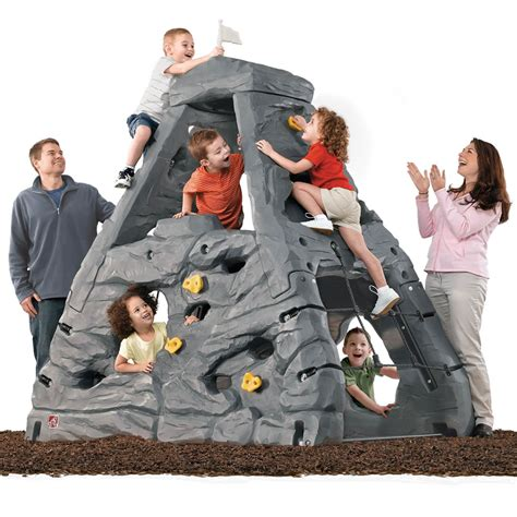backyard climbing toys skyward summit kids climber step2