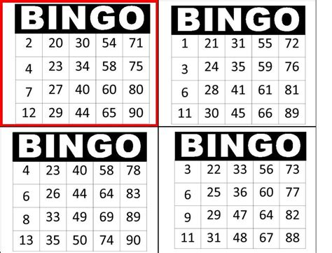free printable a4 number cards a4 bingo cards icing sheet cake topper ebay