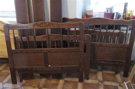 antike betten kaufen zwei antike betten und schrank in neustadt schr 228 nke