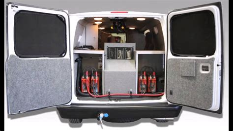 cargo van roof air conditioner stealth van rv heat and air conditioning