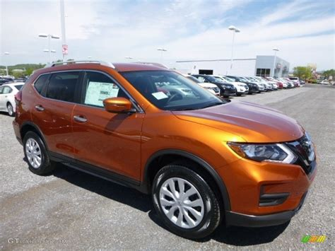 orange nissan rogue 2017 monarch orange nissan rogue s awd 120155498