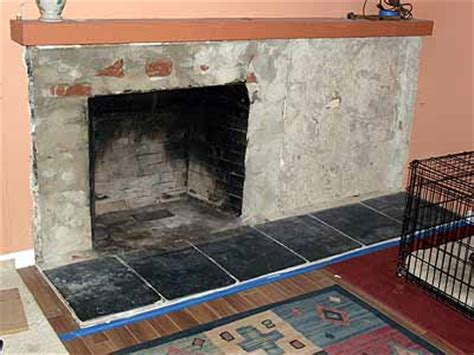 Ceramic Tile Fireplace Hearth by Help With Fireplace Hearth Tile Prep Ceramic Tile Advice