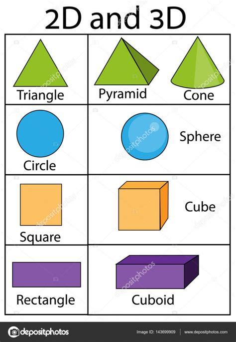 imagenes en 3d y 2d figuras y formas geom 233 tricas 2d y 3d infograf 237 as