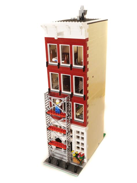lego hotel tutorial purchase custom lego instructions amsterdam gift shop
