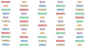 color word test stroop color word test pdf pictures to pin on