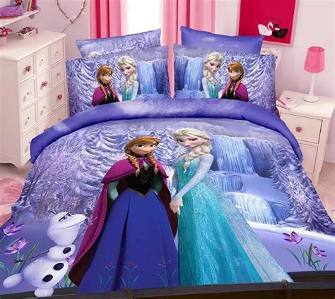 Elsa Bedding by Purple Frozen Elsa Bedding Sets S Children S