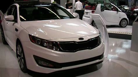 Kia Optima Sx T Gdi by 2012 Kia Optima Sx T Gdi Exterior And Interior At 2012