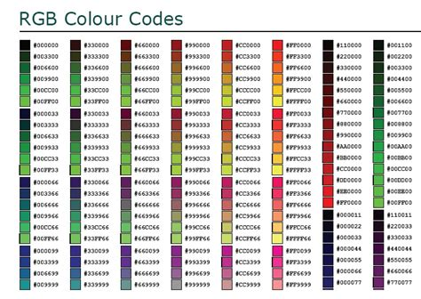 color code picker informasi daftar kode warna html html table of color