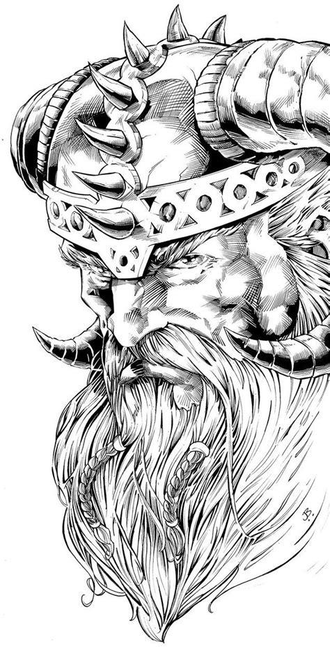 odin tattoo pesquisa google temas vikings pinterest