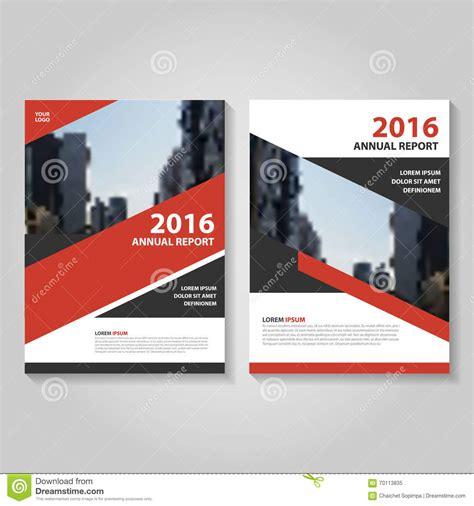 leaflet design books red black vector annual report leaflet brochure flyer