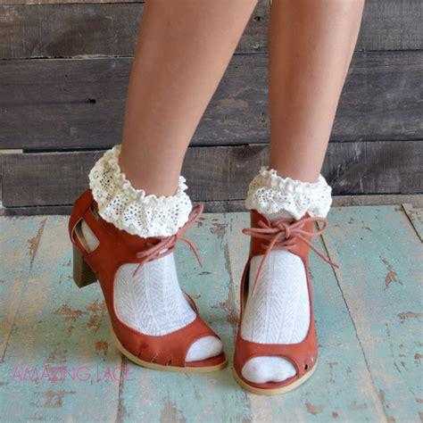 Sandal Wanita Fav Kawai White Fav Shoes shoes open toe heels fall heels cognac heels fall chunky heel trendy amazing lace