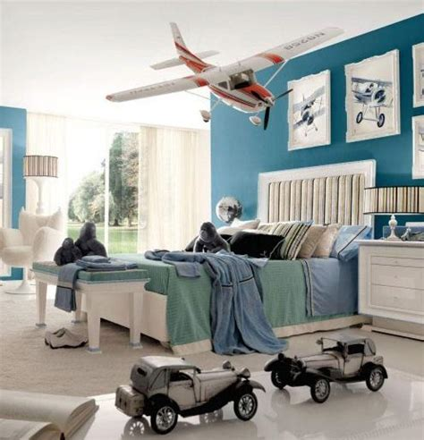 airplane bedroom decor cool room designs for teenage guys inspirations