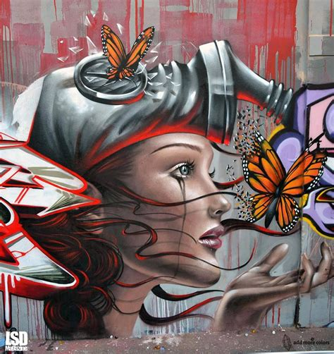 pin  annemoney  art street art graffiti street art