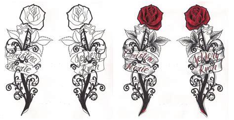 gothic flower tattoo designs flowers design