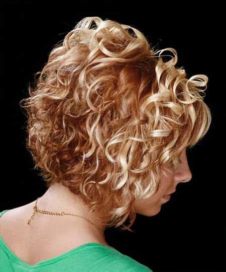Curly Blunt Cut Short Hair Cuts Back View | 17 best ideas about cute curly hairstyles on pinterest