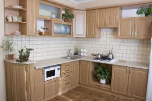 kitchen cabinets in pictures of kitchens traditional light wood kitchen