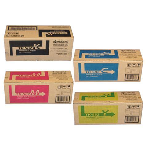 kyocera mita tk582y yellow toner cartridge made by