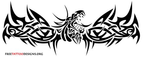 tribal lower back tattoo designs tribal designs