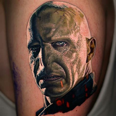voldemort tattoo top 15 voldemort tattoos littered with garbage