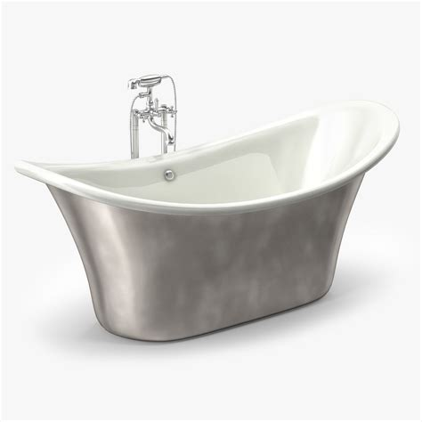 apollo bathtubs 3d model albion apollo free standing bath tub vr ar