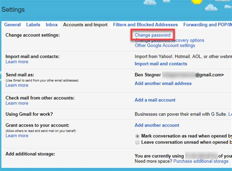 reset gmail via email how to make a gmail account change your password and