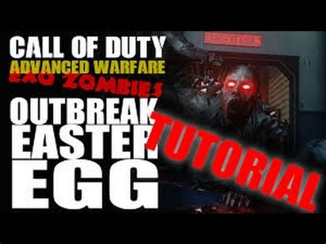 zombie outbreak tutorial exo zombies outbreak solo easter egg guide youtube