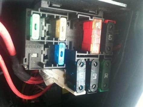 renault clio fuse box problem free wiring diagram