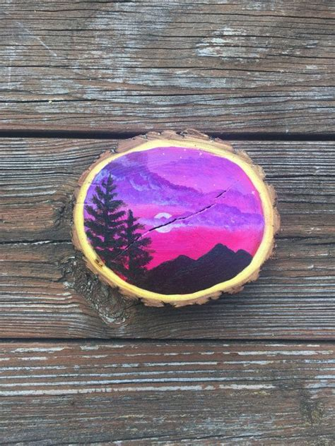 acrylic paint used on wood 25 best ideas about paintings of nature on
